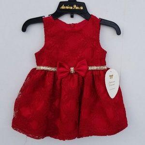 Brand new girls holiday dress
